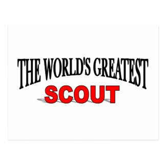 The World's Greatest Scout Postcards