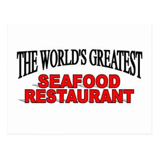The World's Greatest Seafood Restaurant Postcard