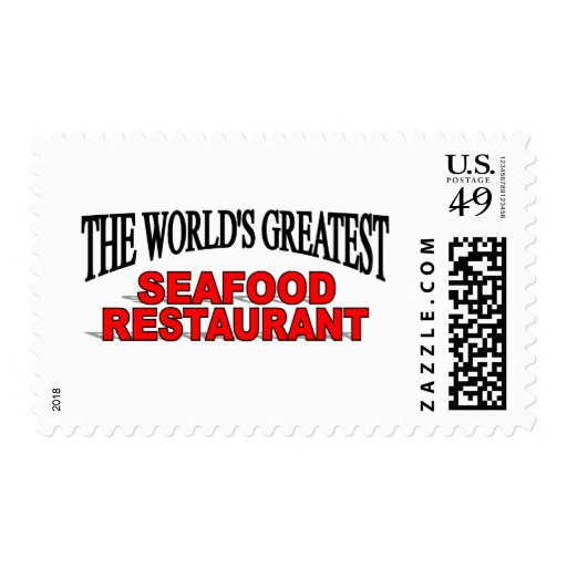 The World's Greatest Seafood Restaurant Stamps