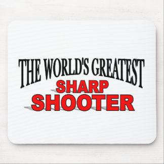 The World's Greatest Sharp Shooter Mouse Pad