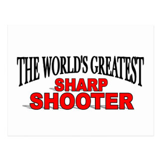 The World's Greatest Sharp Shooter Postcard