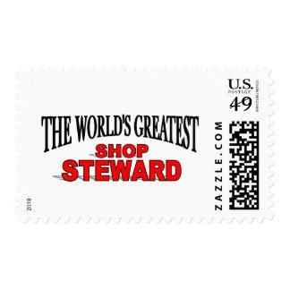 The World's Greatest Shop Steward Postage