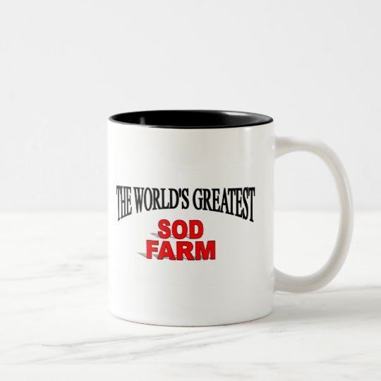 The World's Greatest Sod Farm Two-Tone Coffee Mug