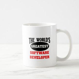 The world's greatest software developer coffee mug