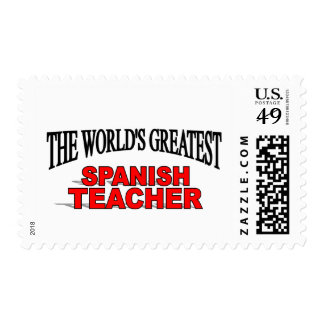 The World's Greatest Spanish Teacher Postage