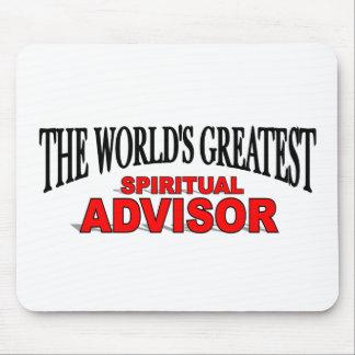 The World's Greatest Spiritual Advisor Mouse Pad