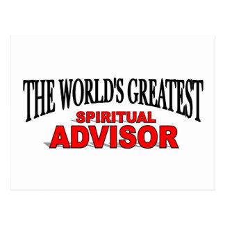The World's Greatest Spiritual Advisor Post Cards