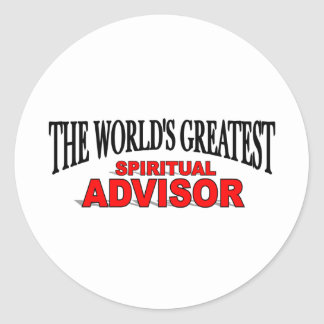 The World's Greatest Spiritual Advisor Sticker