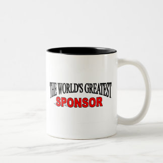 The World's Greatest Sponsor Two-Tone Coffee Mug