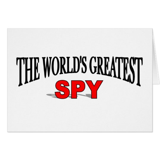 The World's Greatest Spy Card