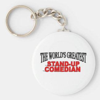 The World's Greatest Stand-up Comedian Keychain