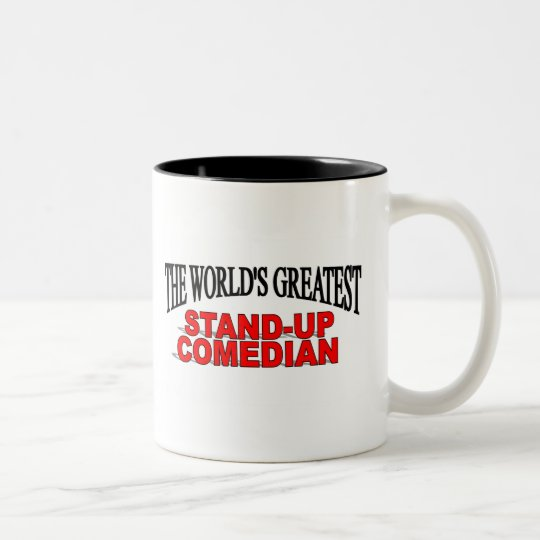 The World's Greatest Stand-up Comedian Two-Tone Coffee Mug