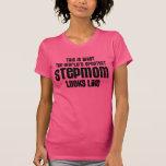 the worlds greatest stepmom looks like tee shirt