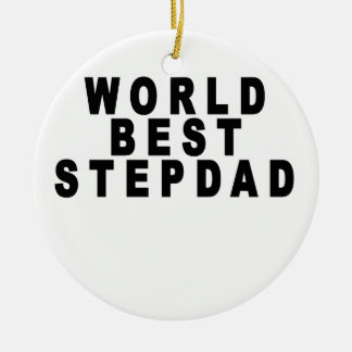 the worlds greatest stepmom looks like tshirts JH. Ornament