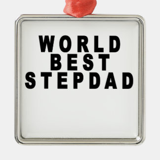 the worlds greatest stepmom looks like tshirts JH. Christmas Ornament