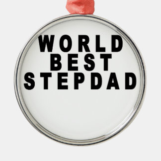 the worlds greatest stepmom looks like tshirts JH. Christmas Ornaments