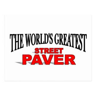 The World's Greatest Street Paver Postcard