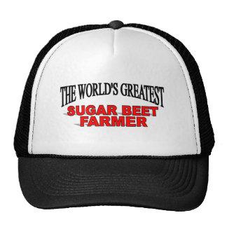The World's Greatest Sugar Beet Farmer Trucker Hat