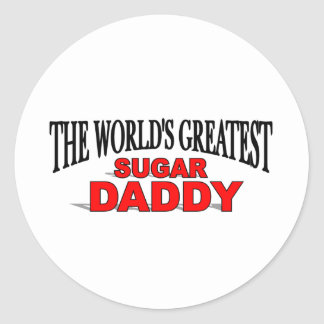The World's Greatest Sugar Daddy Stickers