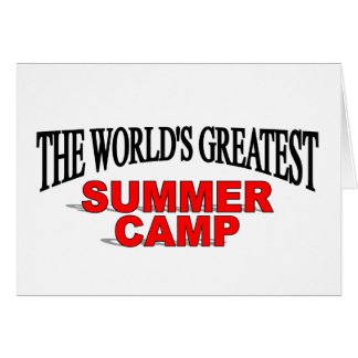 The World's Greatest Summer Camp Greeting Cards