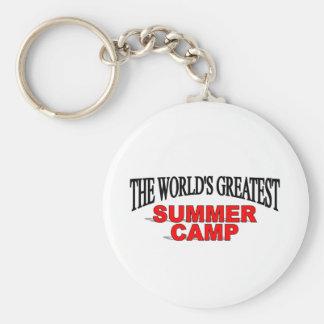 The World's Greatest Summer Camp Keychain