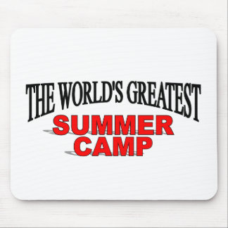 The World's Greatest Summer Camp Mouse Pad