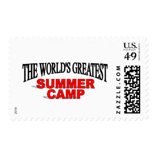 The World's Greatest Summer Camp Stamps