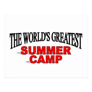 The World's Greatest Summer Camp Postcard