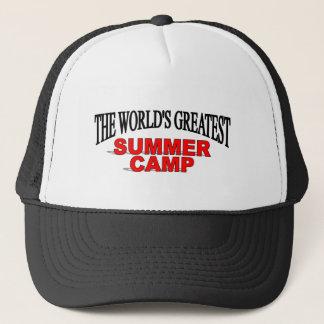The World's Greatest Summer Camp Trucker Hat