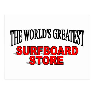 The World's Greatest Surf Board Store Postcard