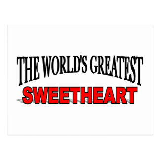 The World's Greatest Sweetheart Post Card
