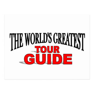 The World's Greatest Tour Guide Postcard