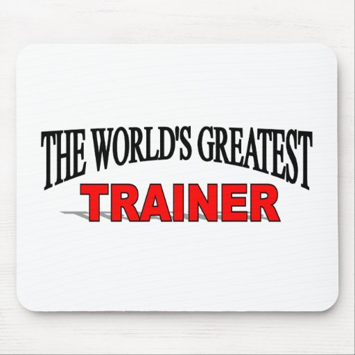 The World's Greatest Trainer Mouse Mats