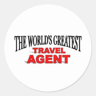 The World's Greatest Travel Agent Sticker