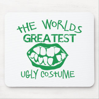 The worlds greatest UGLY costume for Halloween Mouse Pad