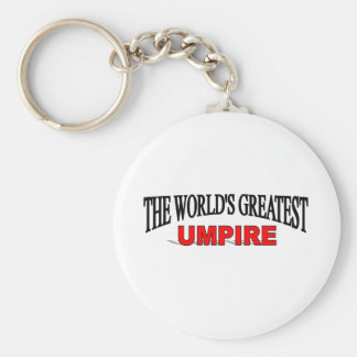 The World's Greatest Umpire Keychain