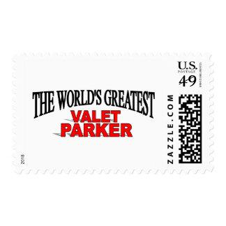 The World's Greatest Valet Parker Postage