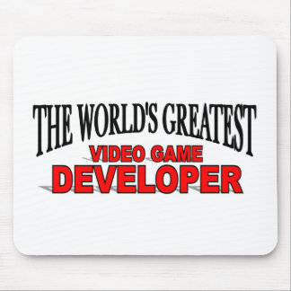 The World's Greatest Video Game Developer Mouse Pad