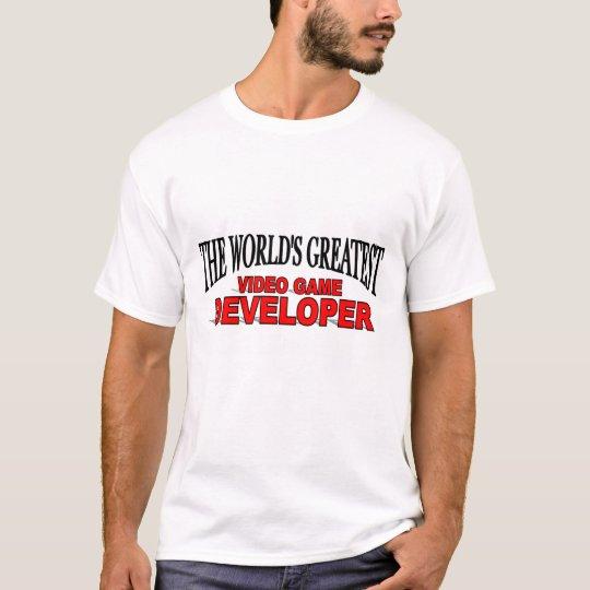 The World's Greatest Video Game Developer T-Shirt