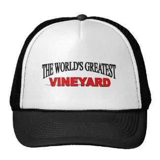 The World's Greatest Vineyard Trucker Hat
