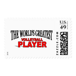 The World's Greatest Volleyball Player Stamps