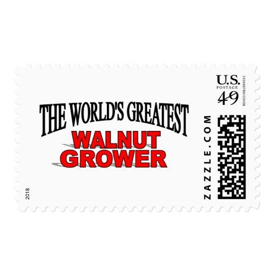 The World's Greatest Walnut Grower Postage