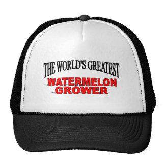 The World's Greatest Watermelon Grower Trucker Hat