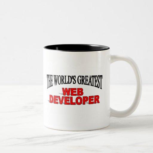 The World's Greatest Web Developer Mugs