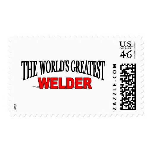 The World's Greatest Welder Stamp