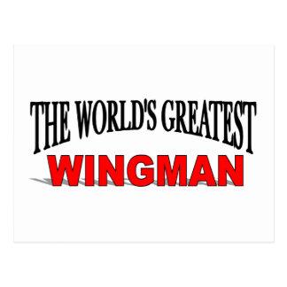 The World's Greatest Wingman Postcard
