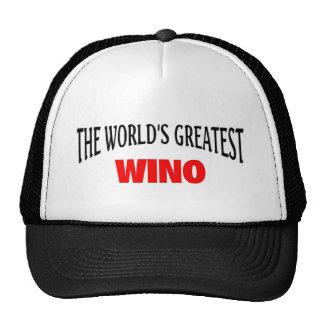 the world's Greatest wino Trucker Hat