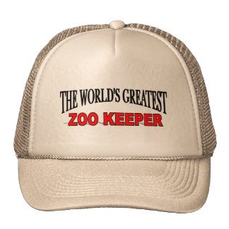 The World's Greatest Zoo Keeper Mesh Hat