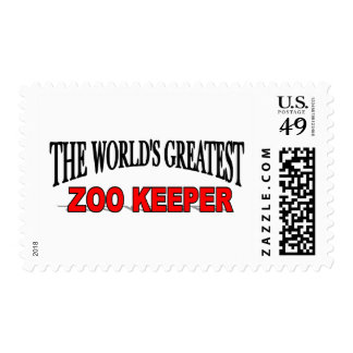 The World's Greatest Zoo Keeper Postage
