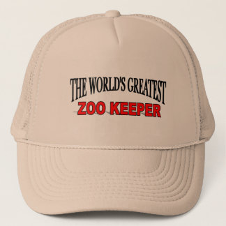 The World's Greatest Zoo Keeper Trucker Hat